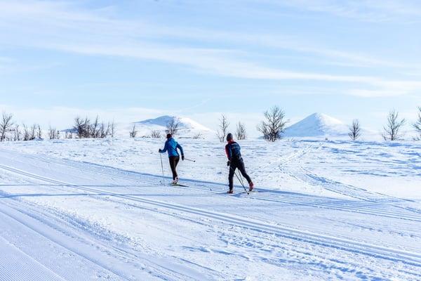 Cross-Country Skiing at Venabu Norway